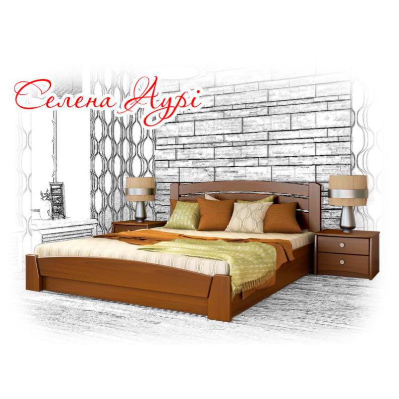 """Ліжко двоспальне """"СЕЛЕНА АУРІ"""""""