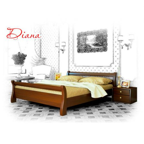 """Ліжко односпальне/двоспальне """"ДІАНА"""""""