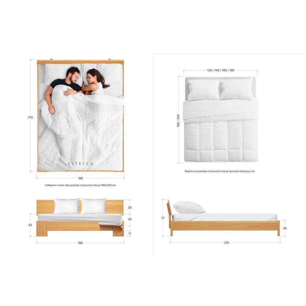 """Ліжко двоспальне """"ТИТАН"""""""