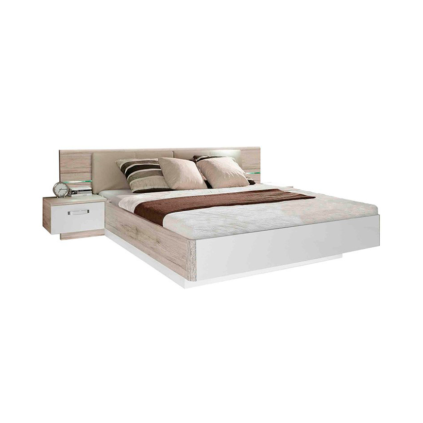 Ліжко 1,8 м з тумбами приліжковими та банкеткою RONDINO